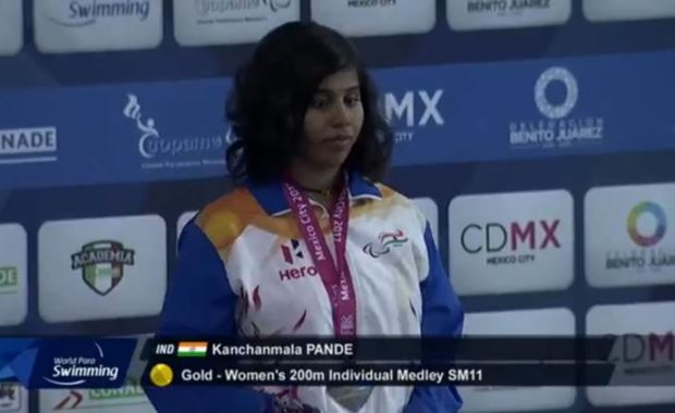 World Para Swimming Championship : Kanchanmala becomes first Indian to win gold