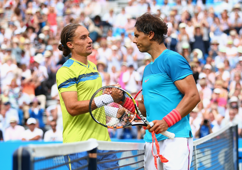 Alexandr Dolgopolov explains the differences between Roger Federer, Rafael Nadal and Novak Djokovic