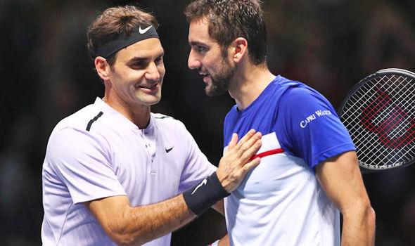 Roger Federer Marin Cilic