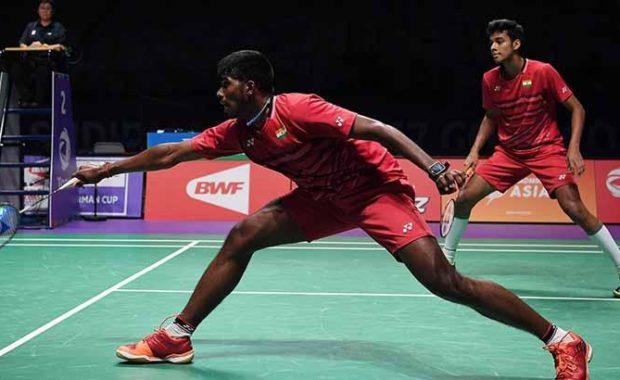 Indonesian Masters : Satwiksairaj Rankireddy and Chirag Shetty stun World no.10 Japan's pair