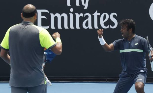 Australian Open : Leander Paes & Purav Raja through to pre-quarters after major upset