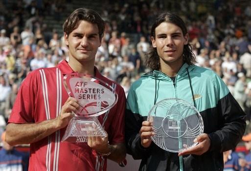 Federer defeats Rafa in Hamburgh