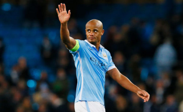 Man City captain Vincent Kompany happy with Team condition ahead of Arsenal Clash
