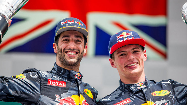 "Ricciardo : No mistakes with ""Best Teammate"" Verstappen"