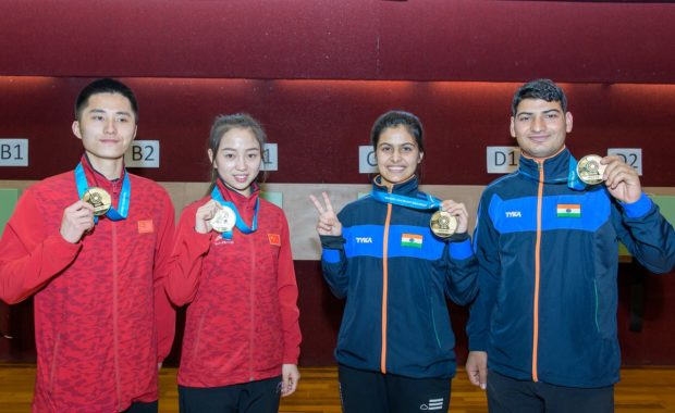 India Finish on the top of medal telly with 9 medal at ISSF Mexico World Cup