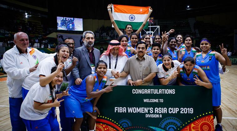 Indian women's basketball team for CWG 2018