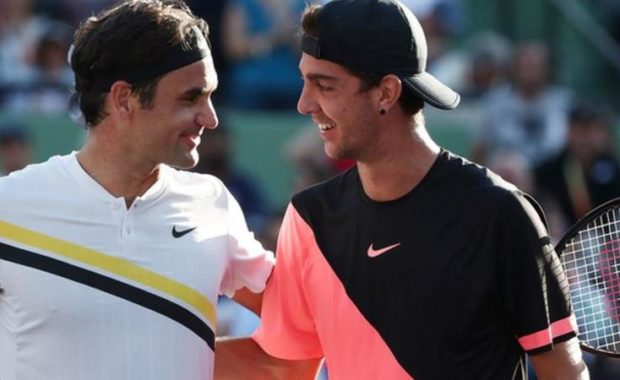 Miami Open: Thanasi Kokkinakis upsets defending champion Roger Federer
