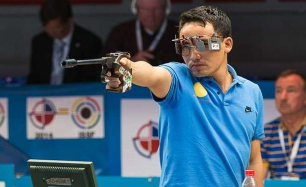 CWG 2018: Jitu Rai wins Gold; bronze for Mitharval in 10m air pistol shooting