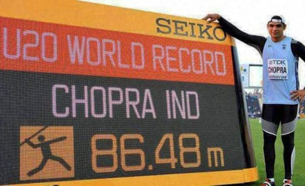 Asian Athletics Championship : Neeraj Chopra smashed meet record to grab the Gold