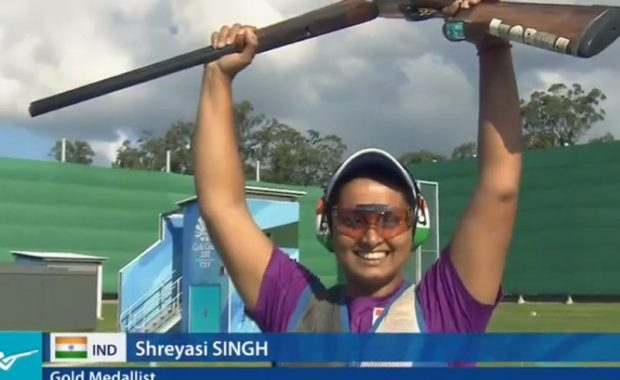 CWG 2018: Shreyasi Singh grabs Gold medal for India in Double Trap Shooting