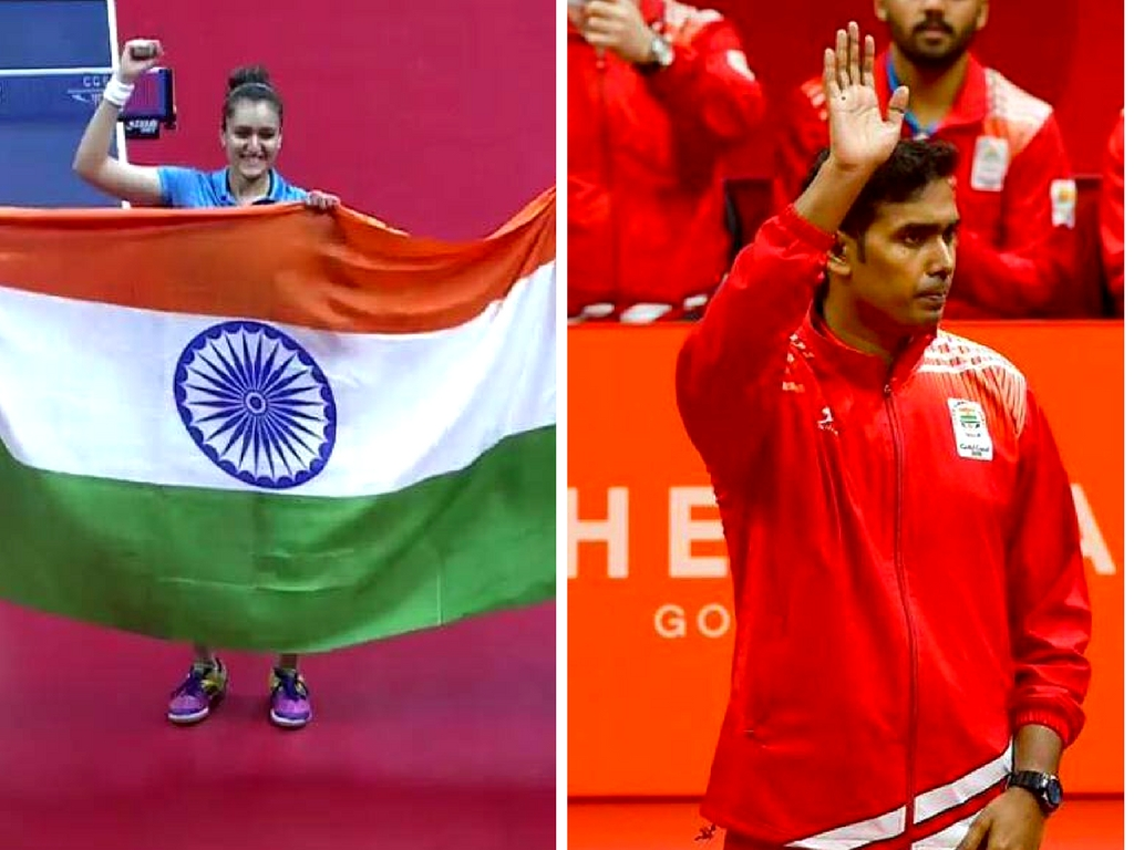 Indian Men's and women table tennis team