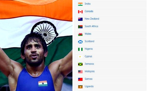 CWG 2018: Medal Tally after Day 9 of Commonwealth Games