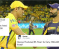 Twitter reacts to Leaked Hotstar video of CSK vs KKR IPL 2018 Final