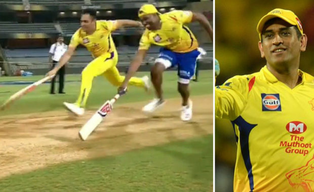 Watch: MS Dhoni and Bravo three run challenge after IPL 2018 Final