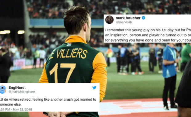 Cricket World reacts to AB de Villiers retirement from international cricket