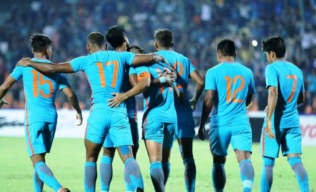 Indian Football Team Intercontinental Cup 2018