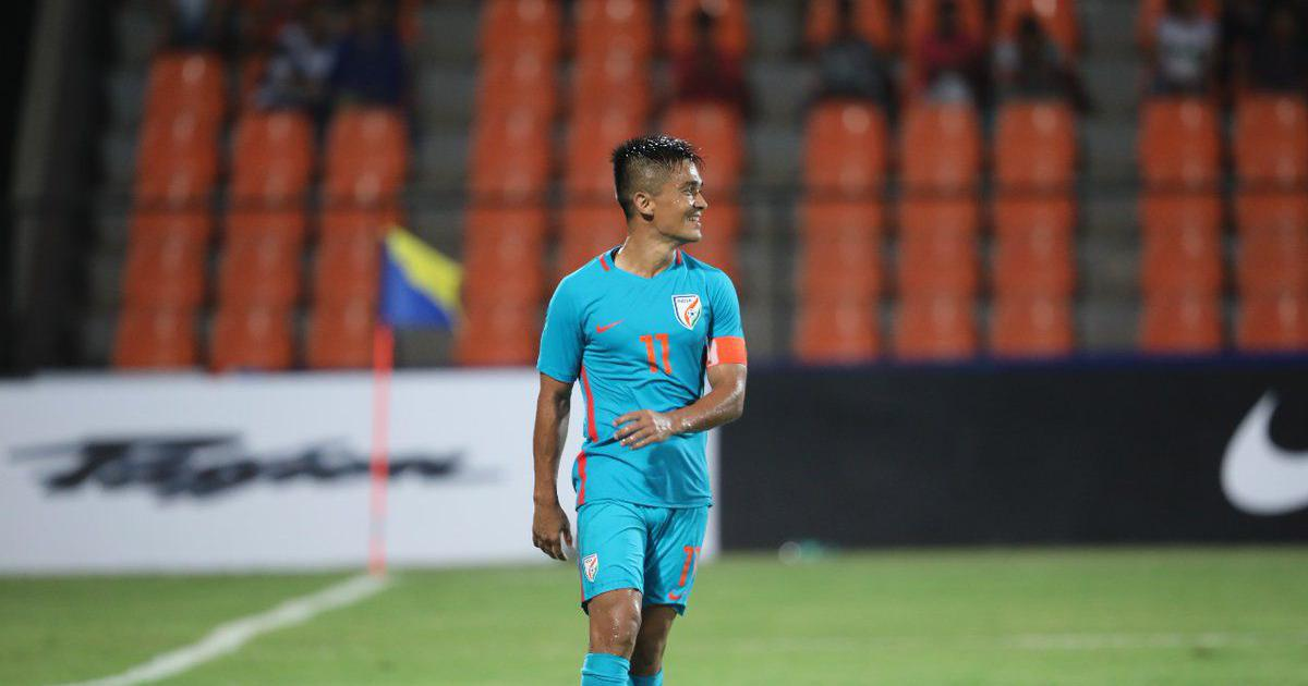 Intercontinental Cup 2018 Sunil Chhetri