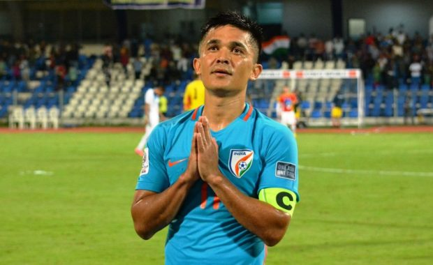Intercontinental Cup 2018: Sunil Chhetri climbs to 3rd on highest active international goalscorers' list
