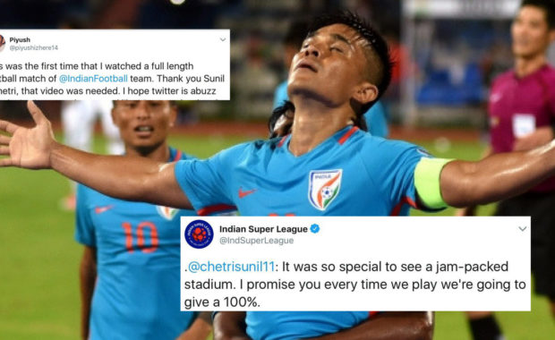 Watch: Sunil Chhetri brilliant goal against Kenya at Intercontinental Cup 2018