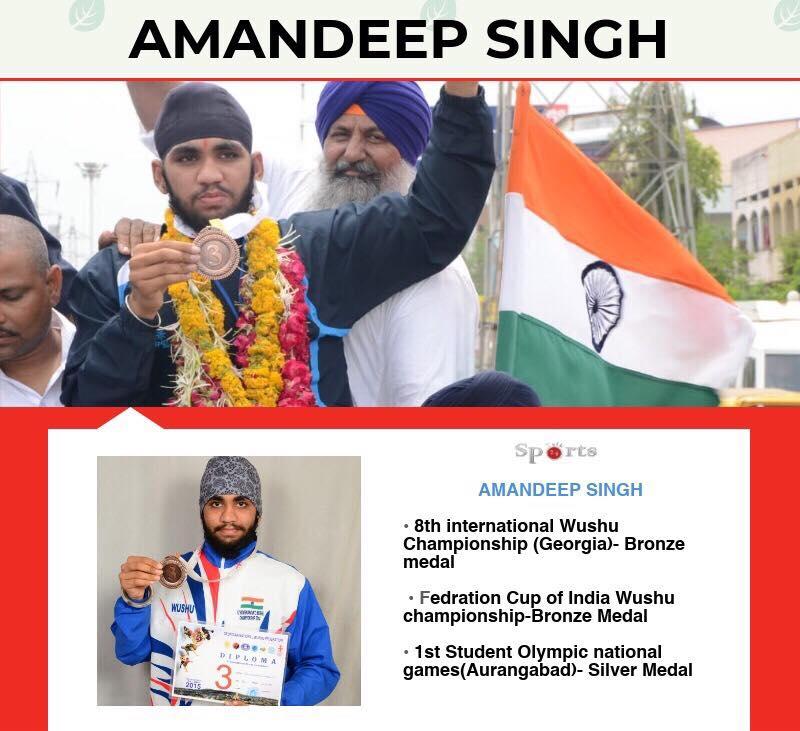 Amandeep Singh Wushu