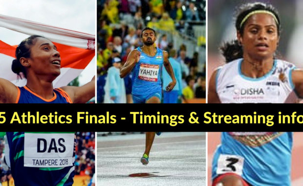 Asian Games: Hima Das, Mohammed Anas & 3 other athletes compete for medal today