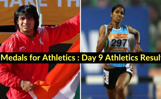 Asian Games: India won 4 medals including one gold on Day 9 in athletics