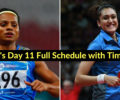 Asian Games 2018: India's Day 11 Schedule with Timings