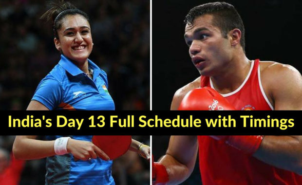 Asian Games 2018: India's Day 13 schedule with timings