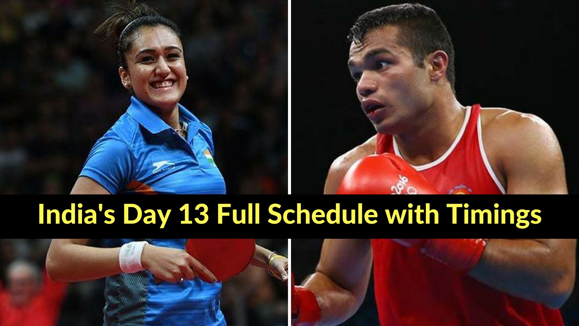 Asian Games 2018: India's Day 13 Full schedule with timings