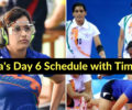 Asian Games: India's Day 6 Full Schedule with Timings