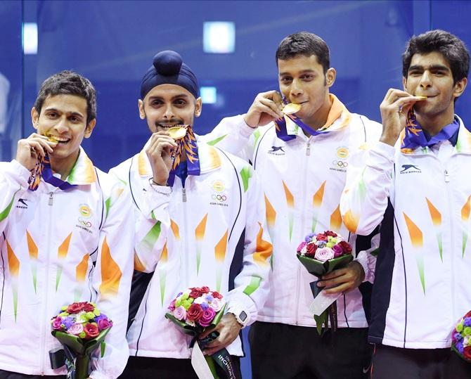 squash 17th Asian Games