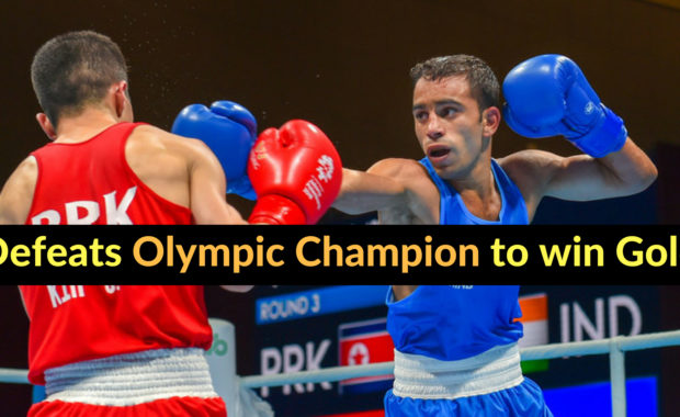 Asian Games 2018: Amit Panghal wins boxing's first gold medal by defeating Olympic Champion