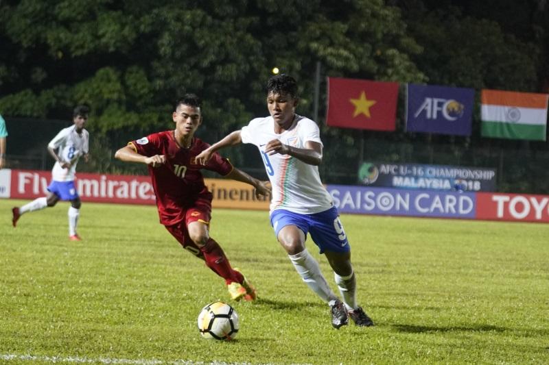 India vs vietnam afc u16 championship