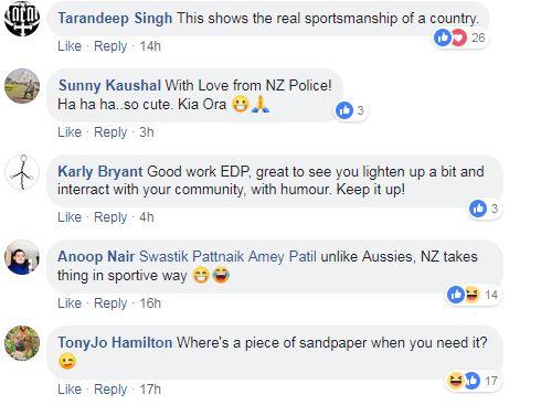 NZ Police trolling
