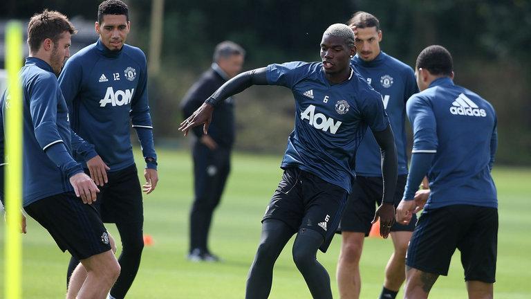 Pogba missing training