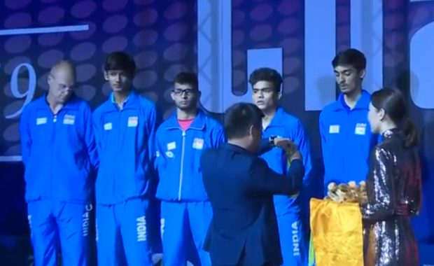 India junior team won silver and Qualify for world junior table tennis championship