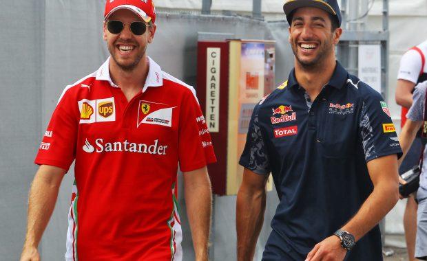 Lewis Hamilton show concern over Sebastian Vettel
