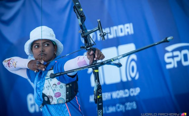 Deepika Kumari Won olympic quota for India in Archery