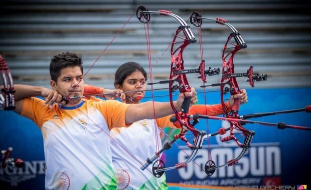 Archery Asian Championship : Mix team won Gold medal