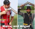 Angad and Mairaj won Olympic quota with Gold and Silver