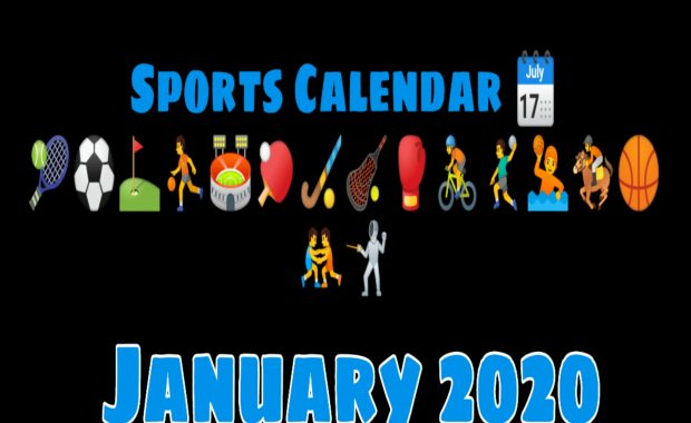 January Schedule for Indian Sports