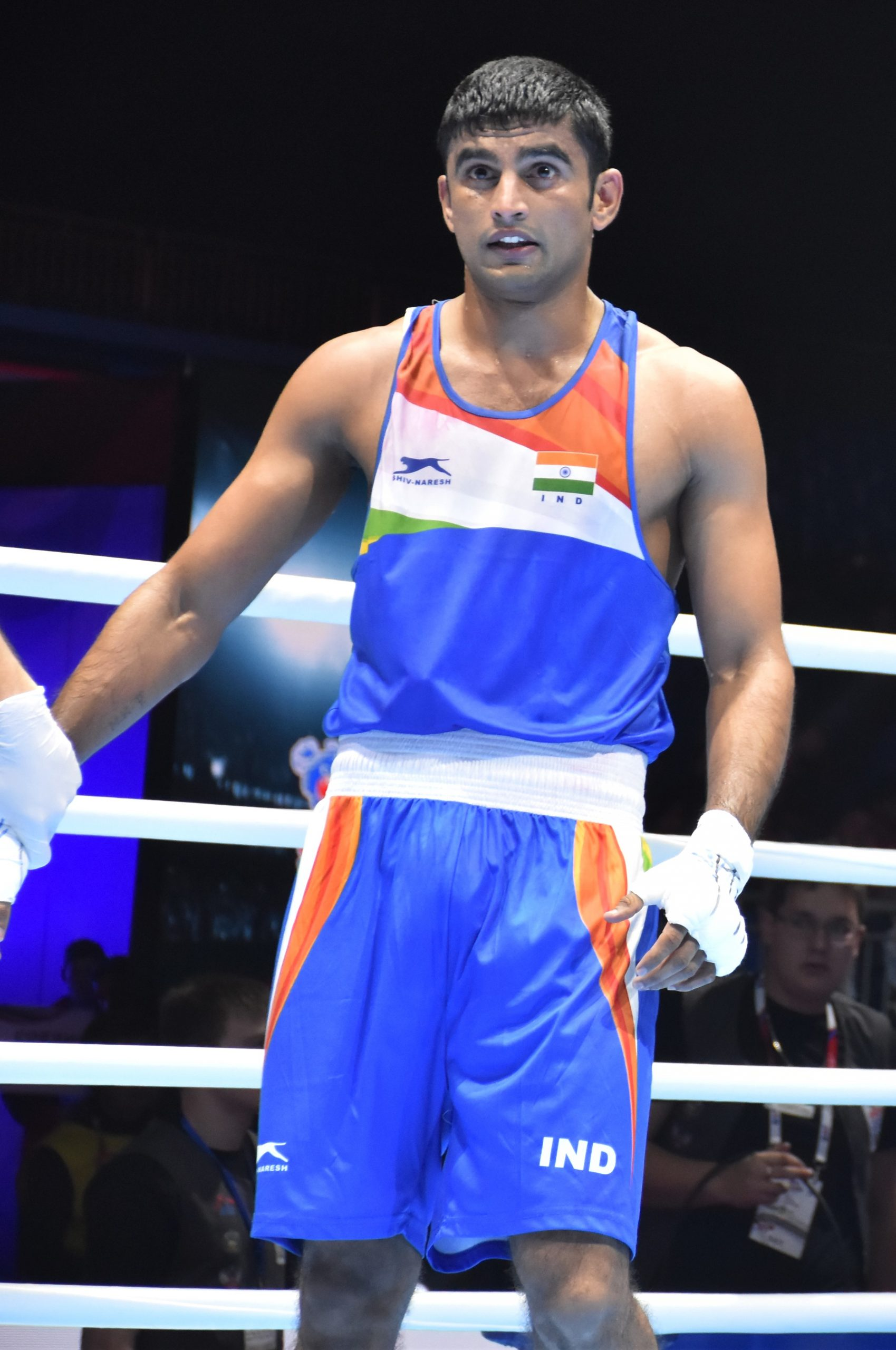 Manish Kaushik won record 9th Boxing quota for India