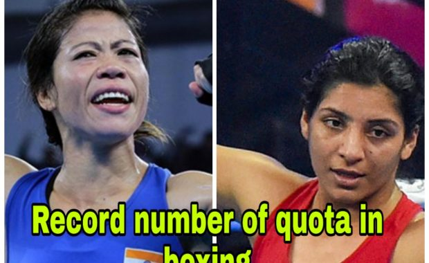 Mary kom Qualify for Her Second Olympic, Simranjit books record 8th quota