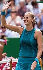 Kvitova woman tennis