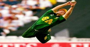 Best fielder Jonty Rhodes