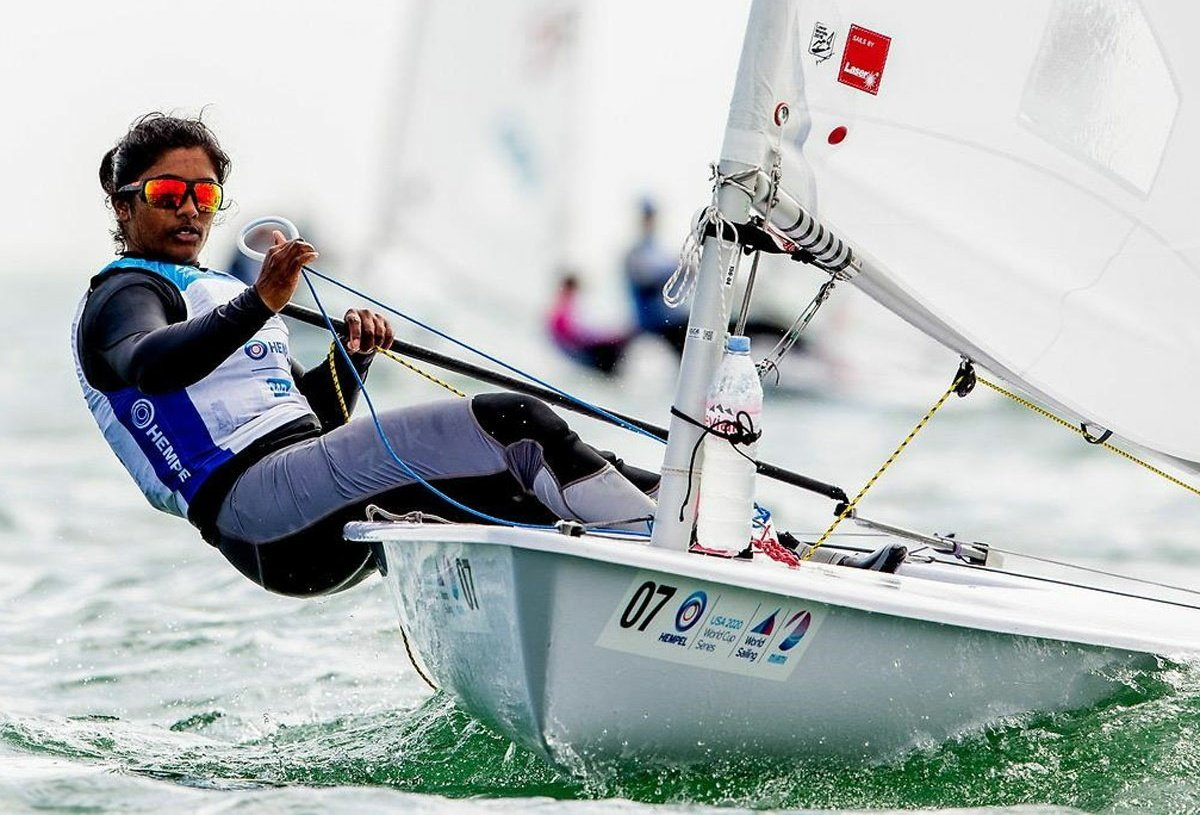 Nethra Kumanan earn first ever Olympics Quota for India in Women Sailing