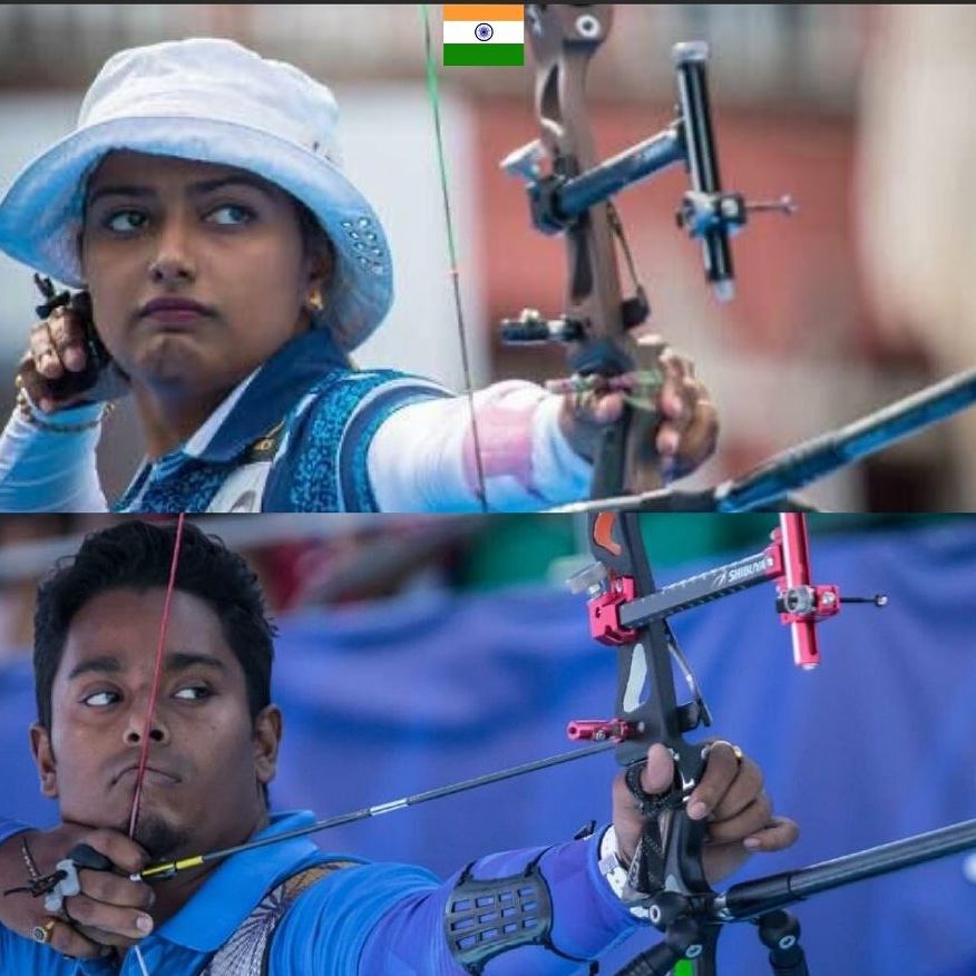 Atanu, Deepika won Gold Indian Recurve archer register best ever world cup finish