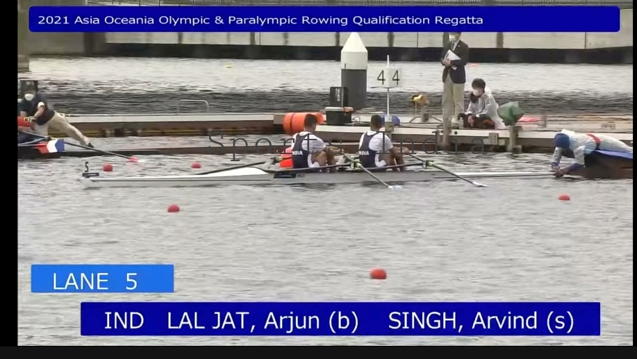 Indian Rowing team